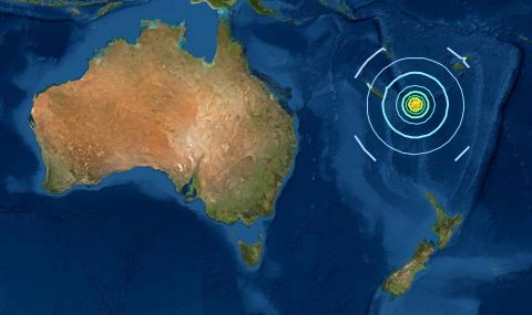 Нова Зеландия очаква големи вълни след земетресение