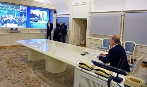 Путин се ядоса и чете конско на...