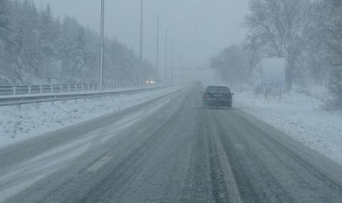 Пътищата в страната са проходими при зимни условия