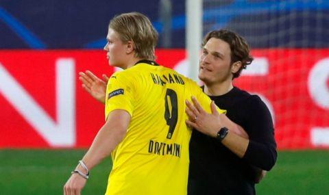 Треньорът на Борусия: И Холанд е човек!