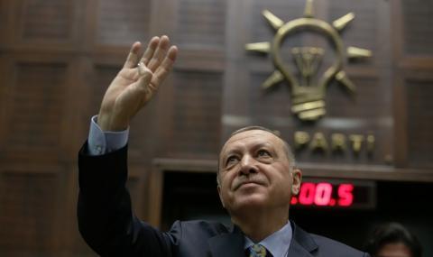 Отмъщението на Ердоган