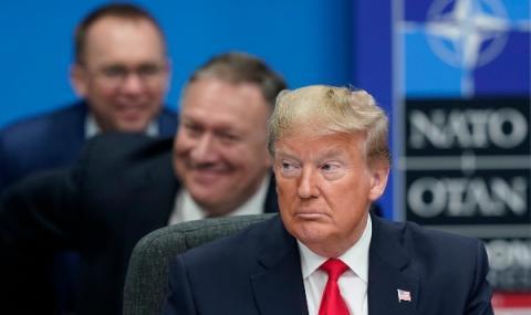 Тръмп напусна срещата в Лондон