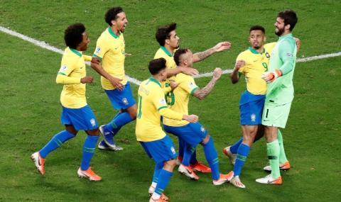 Бразилия на полуфинал след голяма драма