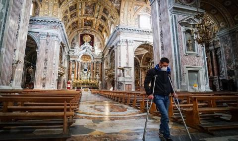 В Неапол бедността е по-страшна от болестта