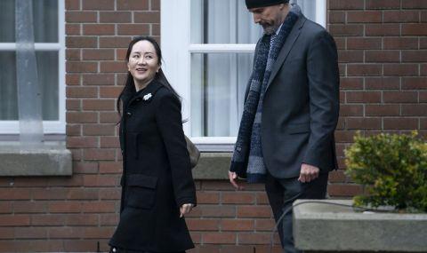 Директорът на Huawei се завърна в Китай - 1