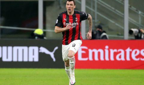 Милан иска да се раздели с Марио Манджукич