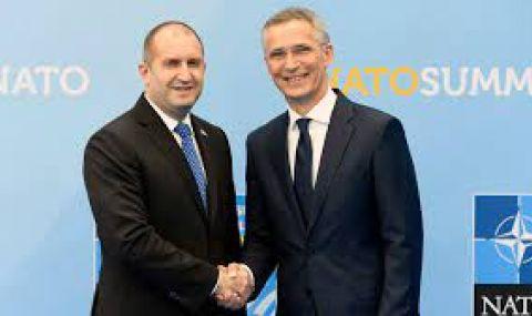 Радев повежда българската делегация за Срещата на върха на НАТО
