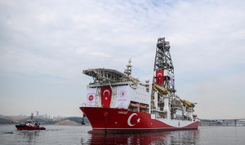 Турция се превръща в пират в Източното Средиземноморие
