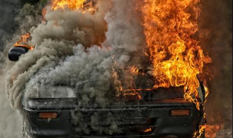 Задържаха подпалвача на мерцедес в Айтос