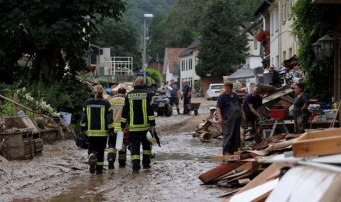 Германия ще се възстановява с години от бедствието