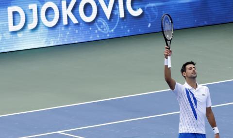 Джокович е на 1/2-финал в Ню Йорк, прегази Щруф и изравни рекорд