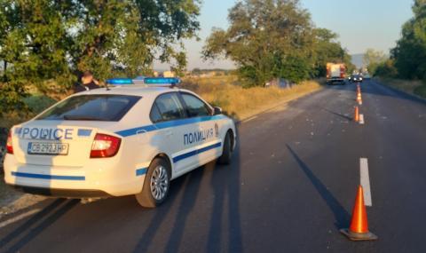 "Млад шофьор премаза тираджия край ""Лесово"""