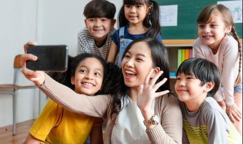 Децата в Китай ще имат право да прекарват само по 40 минути в TikTok - 1