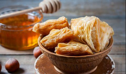 Рецепта на деня: Сиропирана баница с локум и орехи