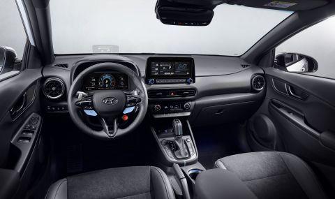 Hyundai представи най-мощнатa Коna  - 7