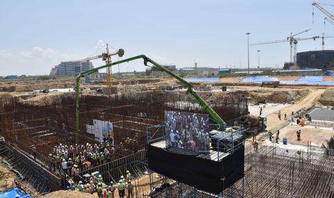 Започна строителството на нов атомен енергоблок в Индия - 1