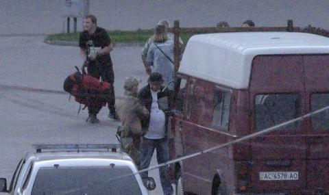Щастлива развръзка! Въоръженият похитител на автобус в Украйна беше задържан