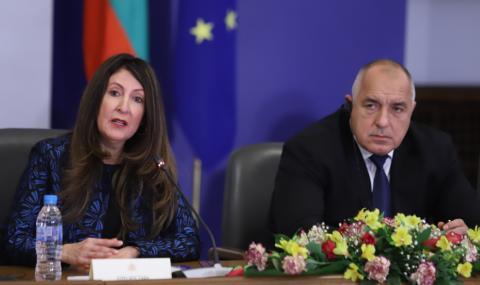 Изолация в посолството на САЩ у нас заради положителния тест на Борисов