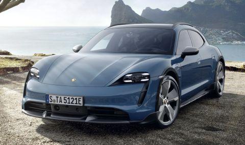 Конфигурирахме електрическото комби на Porsche за 500 хиляди лева - 1