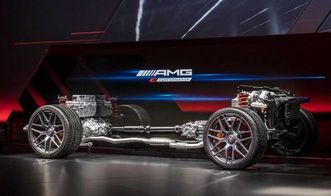 Mercedes разкри мощността на четирицилиндровото C63 AMG - 3