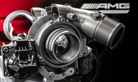 Mercedes разкри мощността на четирицилиндровото C63 AMG - 4