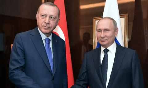 Ключова среща между Путин и Ердоган