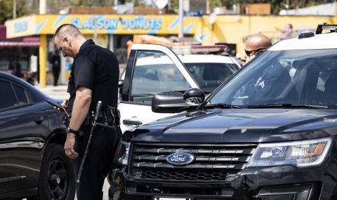 Смъртоносно! Мъж простреля двама души пред ресторант  - 1