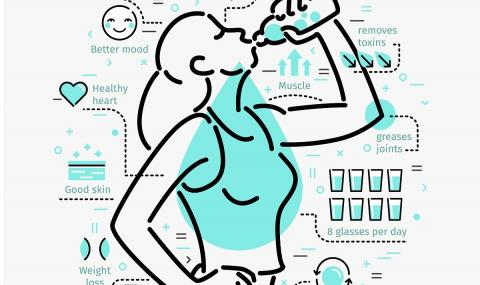 Какво ще се случи, ако пием единствено вода