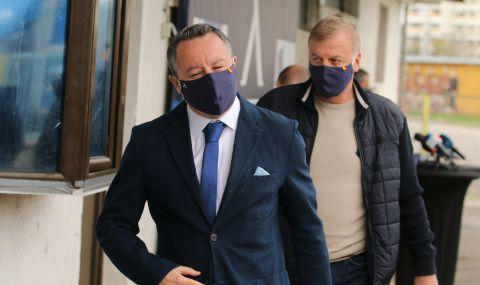 Сираков проведе дълга среща със Стоянович