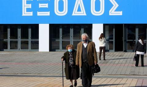 Гърция по Великден: с двойни маски при 35 градуса