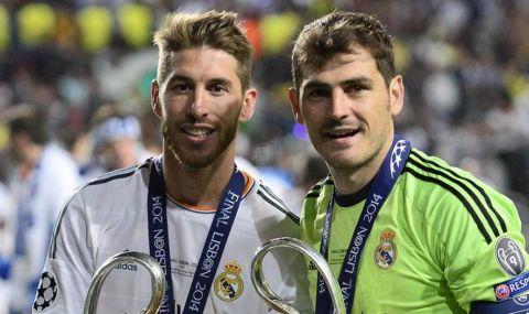 Икер Касияс към Серхио Рамос: Днес напускаш дома, но ще останеш завинаги легенда на Реал Мадрид - 1