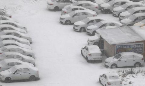 Невиждан сняг затрупа Русия