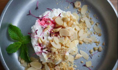 Рецепта на деня: Ментова торта с бишкоти