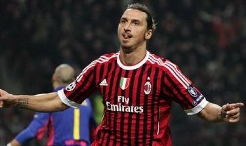 Ибрахимович с поздрав към Милан