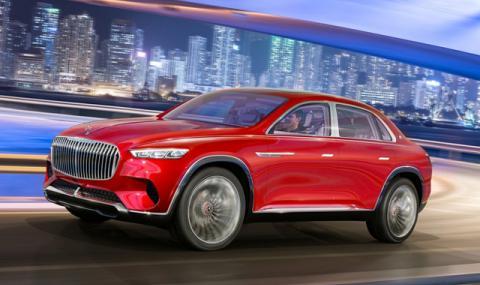 Mercedes пуска серийно ултралуксозно SUV Maybach