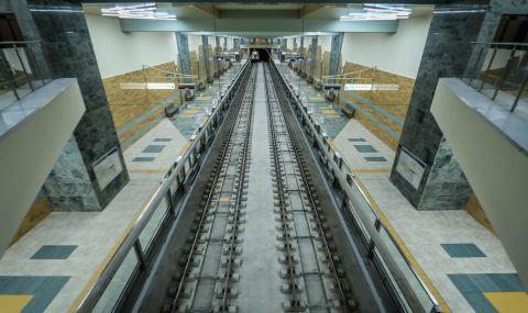 Откриват новия участък от третата линия на софийското метро