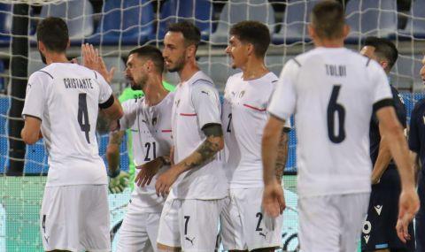 Италия загря за Европейското първенство с бой над Сан Марино - 1