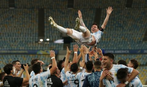 Меси посвети титлата от Копа Америка на цяла Аржентина и на Диего Марадона