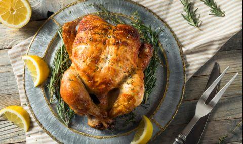 Рецепта на деня: Печено пиле с хрупкава коричка