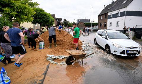 Спешна помощ от €300 милиона след разрушителните наводнения
