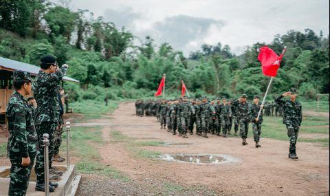 Хунтата обяви примирие