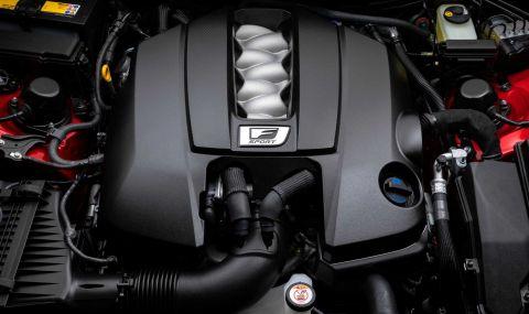 V8 мотор за новия Lexus IS 500 F Sport - 11