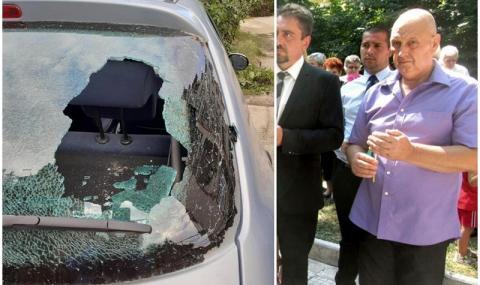 Изпочупиха стъклата на колата на кандидат за кмет от ГЕРБ