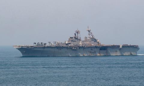 Иран освободи задържани моряци
