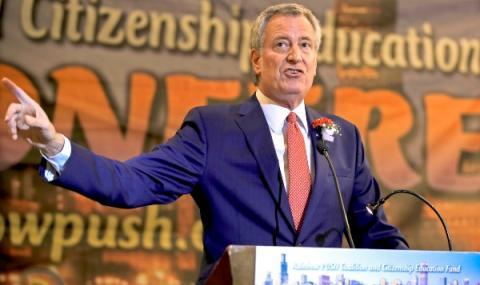 Кметът на Ню Йорк напусна президентската надпревара