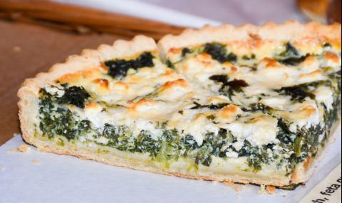 Рецепта за вечеря: Киш със сирена и зелени подправки