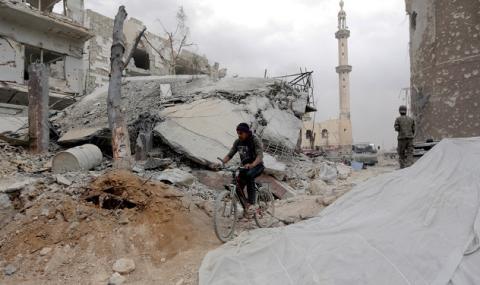 Смъртта се завърна в Сирия