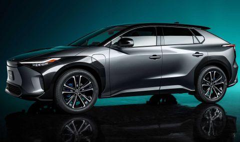 Toyota показа електрически SUV с интересен дизайн - 1