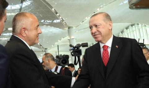 Борисов инициирал разговора с Ердоган, готвят общо заседание