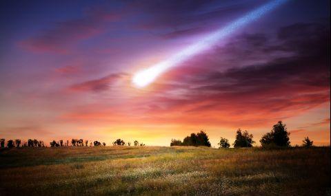 Заснеха падането на метеорит в кратера на вулкан (ВИДЕО)